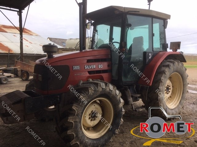 Tracteur agricole Same SILVER 80DT - 1
