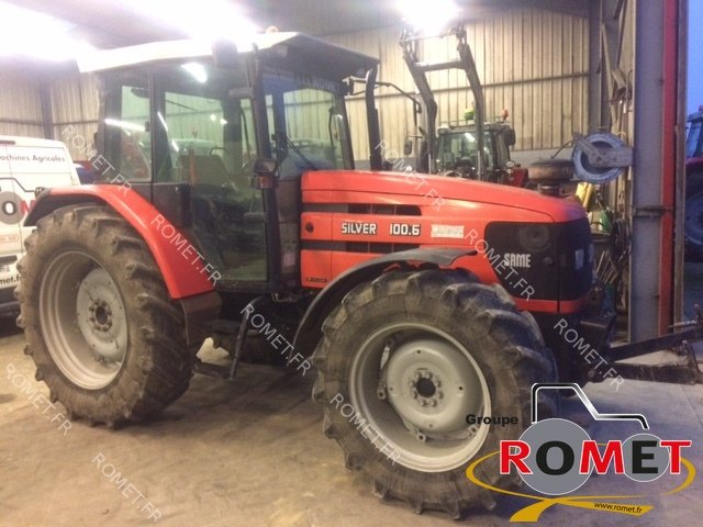 Tracteur agricole Same SILVER 100.6 - 1