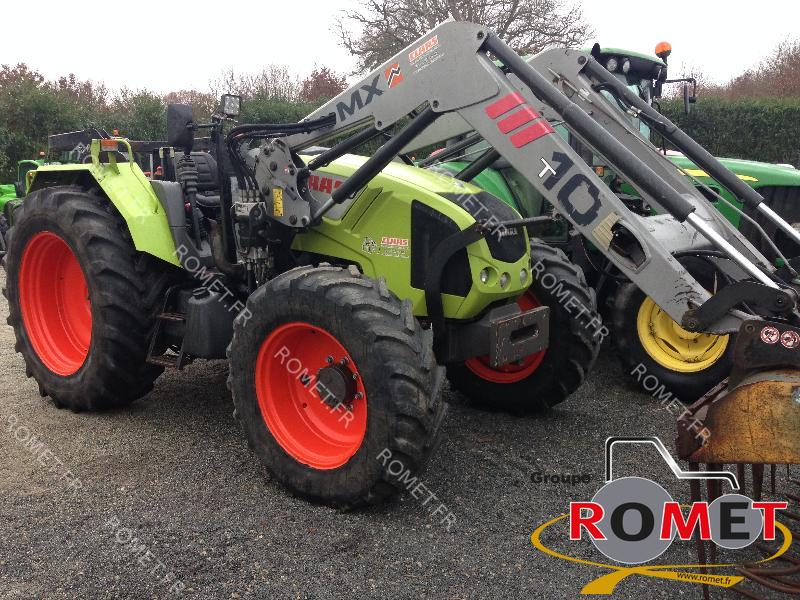 tracteur agricole claas axos 340 vendre sur romet. Black Bedroom Furniture Sets. Home Design Ideas
