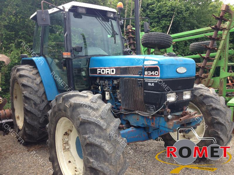 Tracteur agricole New Holland 8340 - 1