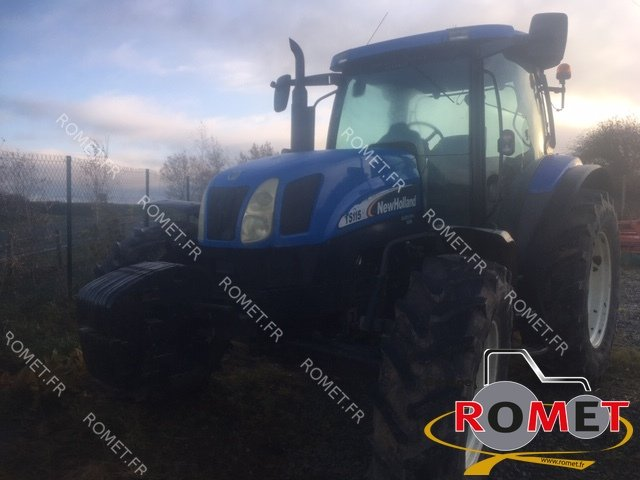 Tracteur agricole New Holland TS115A - 1
