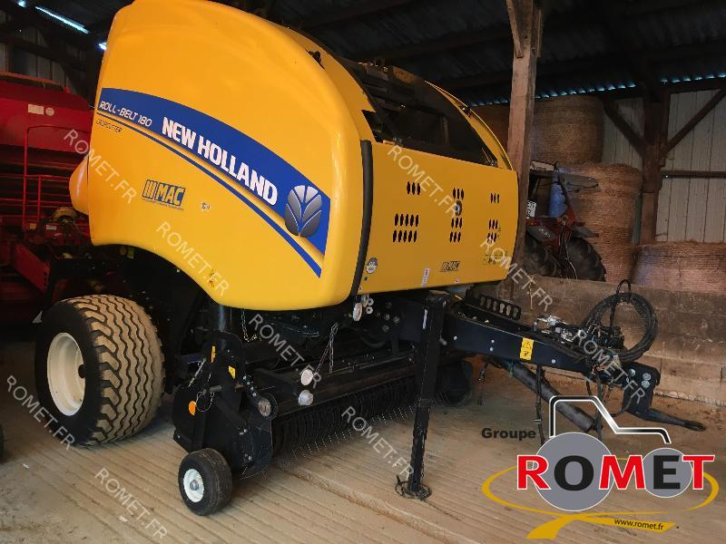 Presse à balles rondes New Holland ROLL BELT180 - 1